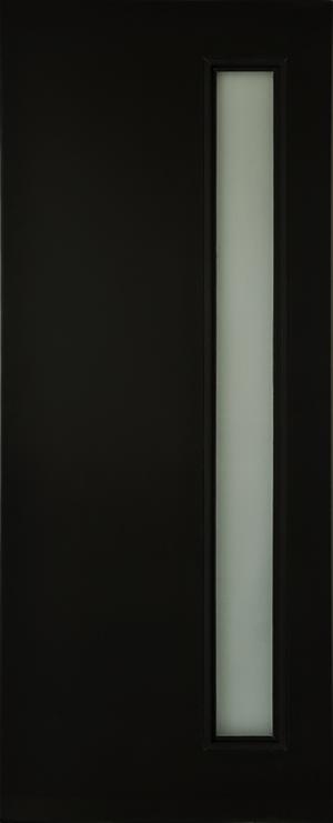 Puerta 1 Vitral Para Entrada Principal Color Chocolate